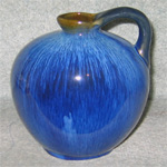 Denby Pottery electric blue jug