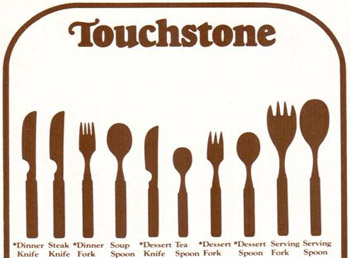 Touchstone cutlery Denby Pottery